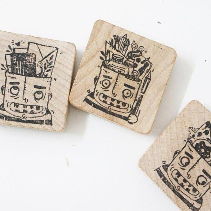 Black Milk Project Rubber Stamp - Brian O'brain Series