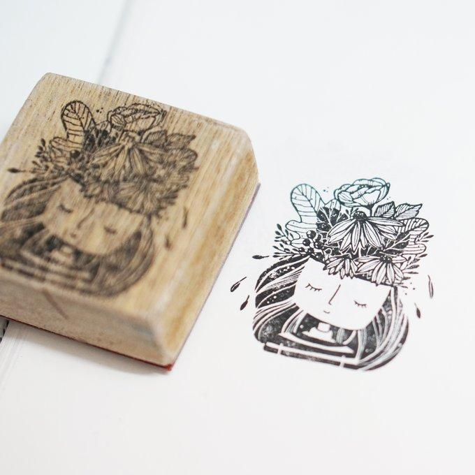 Black Milk Project Rubber Stamp - Lucy