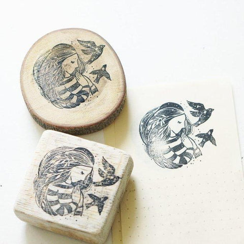 Black Milk Project Rubber Stamp - Treasure