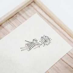 Black Milk Project Rubber Stamp - Dandelion