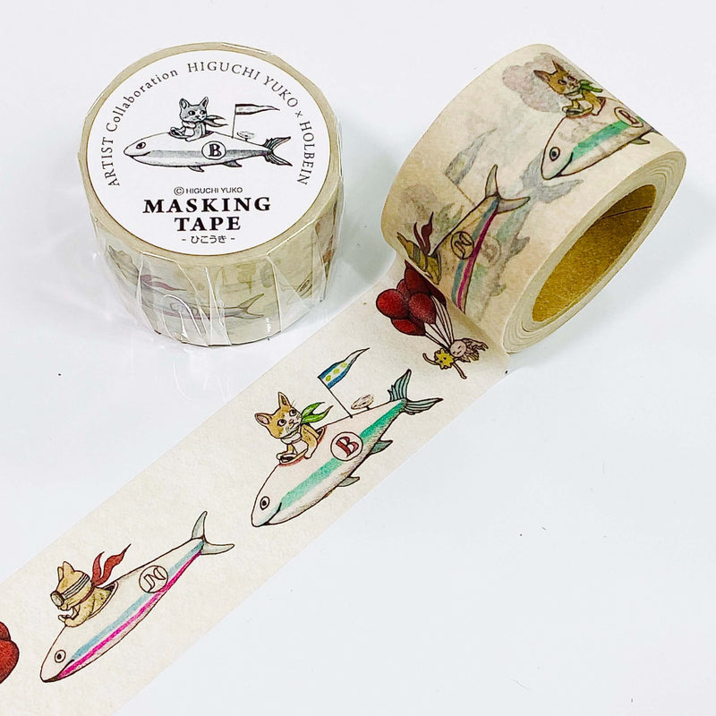 Yuko Higuchi x Holbein Washi Tape 2020 Collection