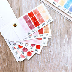 Colour Swatch Washi Sticker Booklet