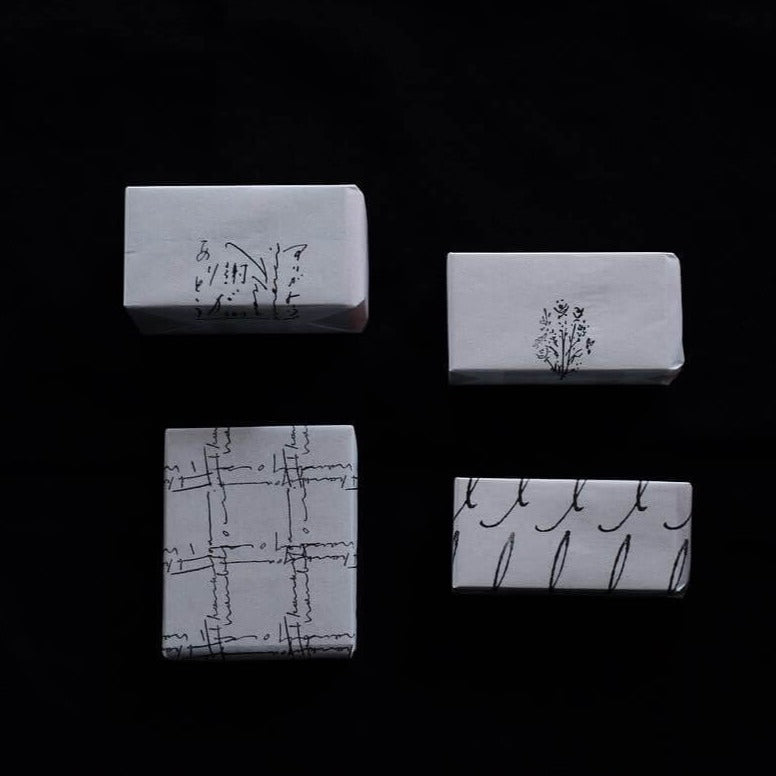 hase rubber stamp - Flower