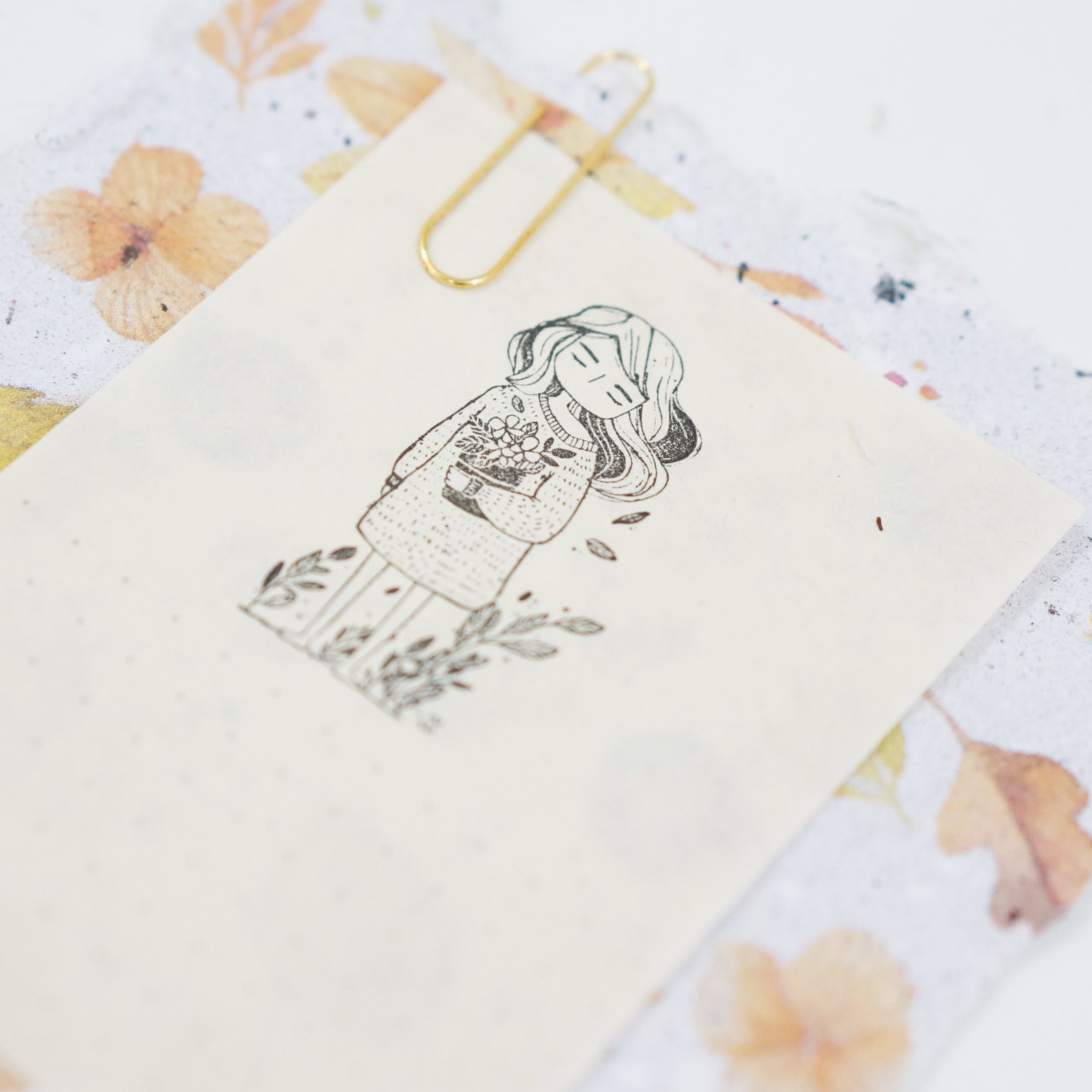 Black Milk Project Rubber Stamp - Emma