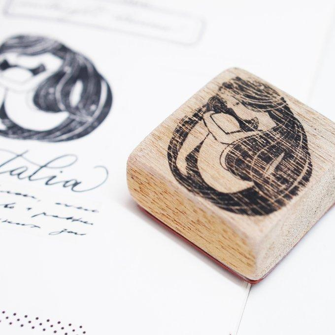 Black Milk Project Rubber Stamp - Midnight Dream Series