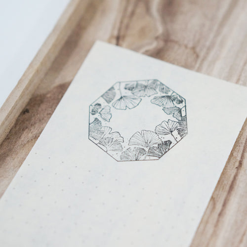 Black Milk Project Rubber Stamp - Gingko