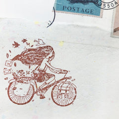 Black Milk Project Rubber Stamp - Mia