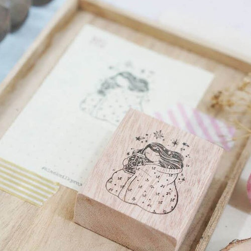 Black Milk Project Rubber Stamp - Goodnight