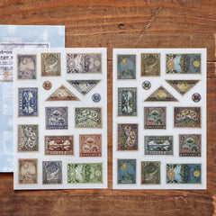 LCN Print-On Stickers - Postage Stamps