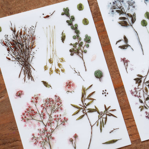 LCN Print-On Stickers - Dried Flowers