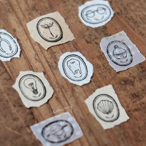 LCN Metal Stamps XII - Life Pieces