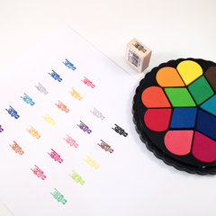 Shachihata Bouquet Ink Pads (15 Colours)