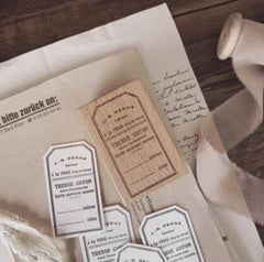A Vintage Tag Rubber Stamp