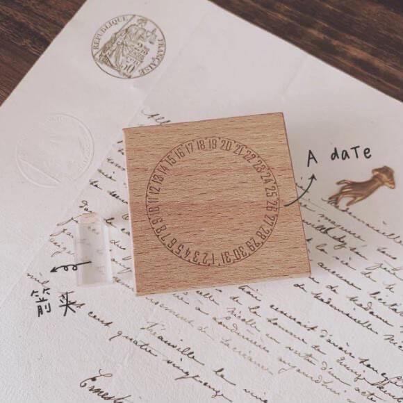 A Date Rubber Stamp