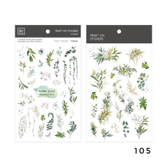 MU Print-On Sticker - Botanical Series VIII