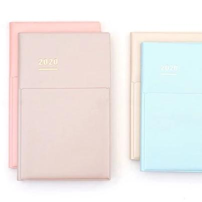 Kokuyo Jibun Techo DIARY book 2020 - Pale Matt Cover