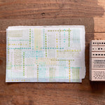 LCN Rubber Stamp Set - Dots and Lines