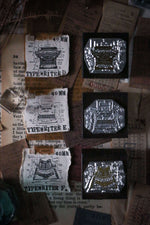 LCN Metal Stamps X - Typewriter