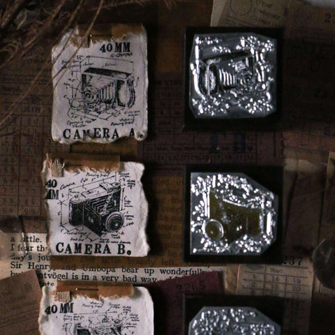 LCN Metal Stamps XI - Vintage Camera