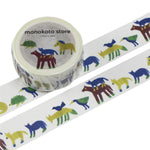 monokoto store x anone na-ni Washi Tapes - (Animals/Flowers)