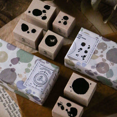 LCN Rubber Stamp Set - Spots