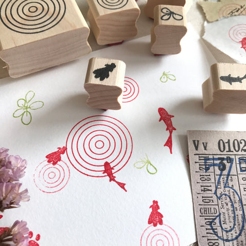 SOM Studio Original Rubber Stamps Set - yǒu yú