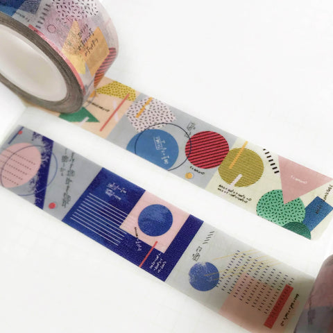 Asteroid B610 Washi Tapes - Practice of Colours
