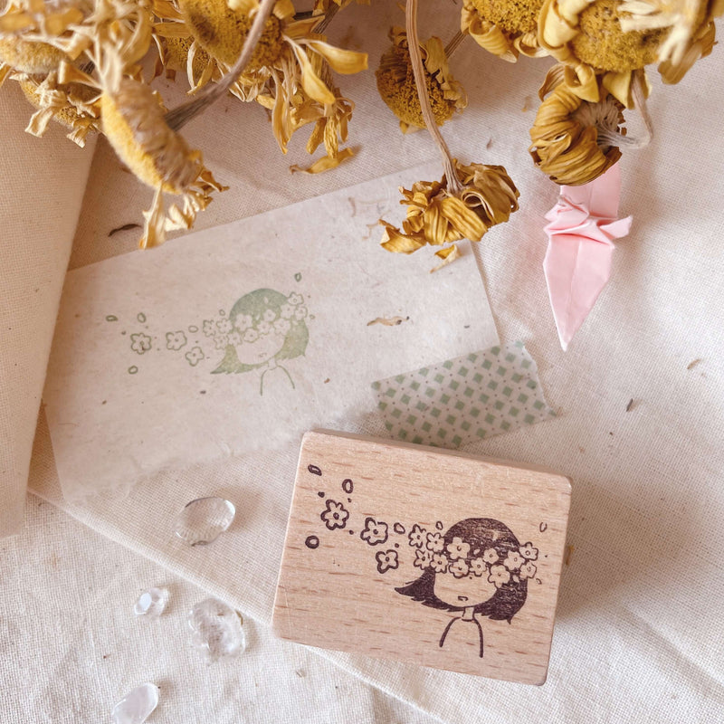 msbulat Rubber Stamp - I See Flowers