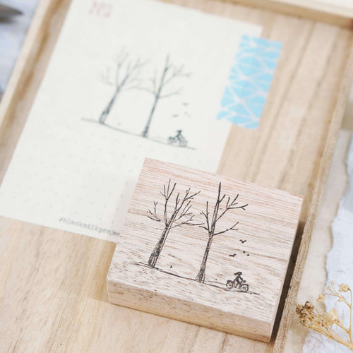 Black Milk Project Rubber Stamp - Journey