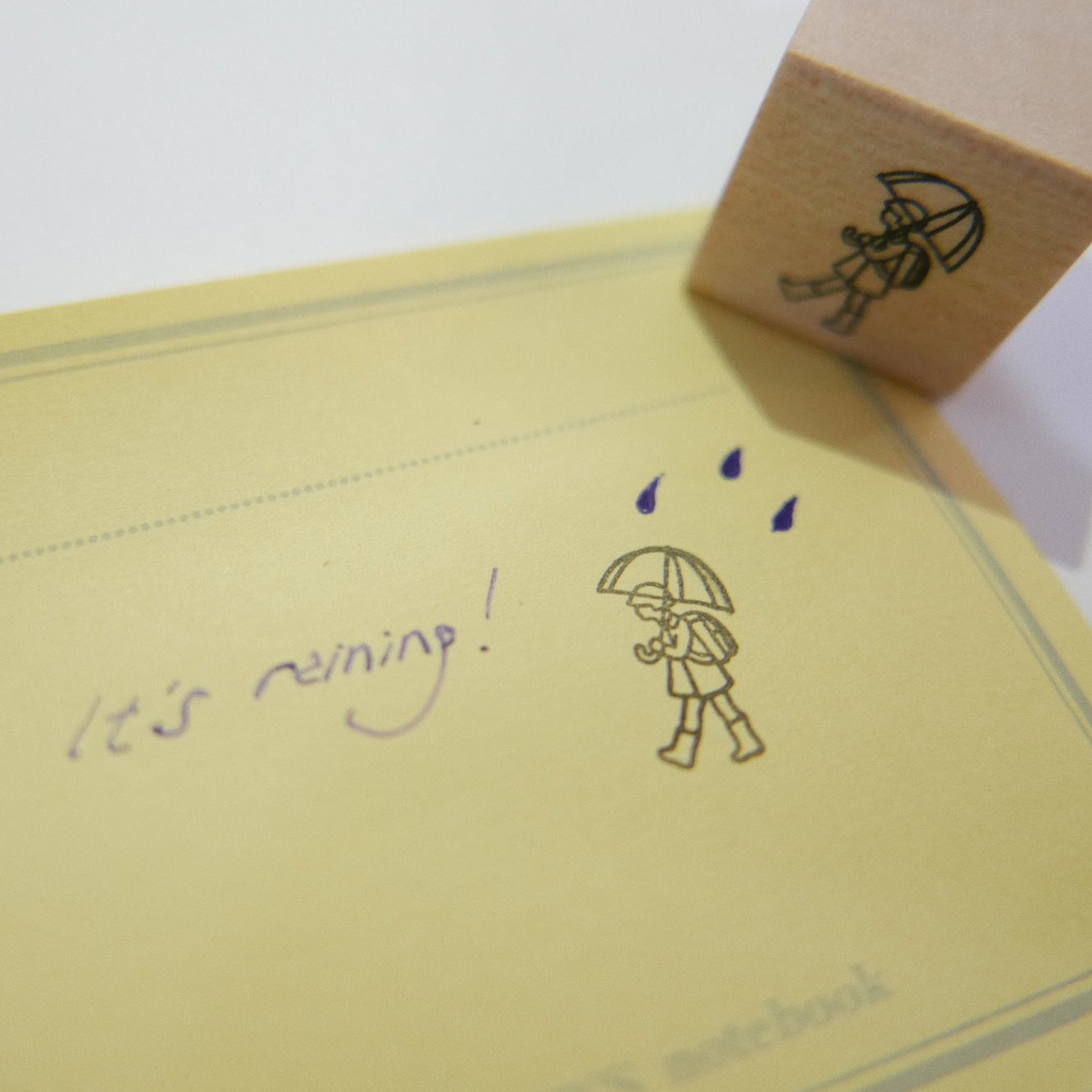 Plain Daily Rubber Stamps