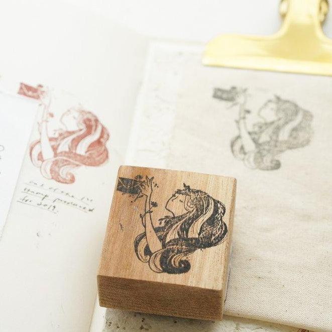 BMP Rubber Stamp - The Narwhal/ The Harp/ The Love Letter