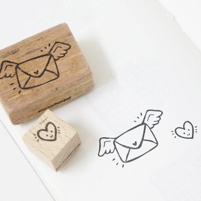 Black Milk Project Rubber Stamp - Love Mail