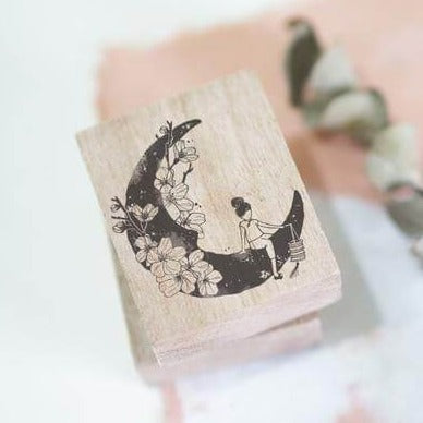 Black Milk Project Rubber Stamp - Moonchild