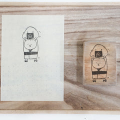 Black Milk Project Rubber Stamp - Ojisan Series