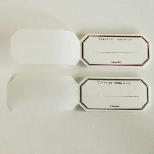 Classiky Letterpress Water Adhesive Label Seals