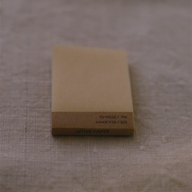 [Discontinued Item] Classiky Silk Paper Memo Pad (SS)