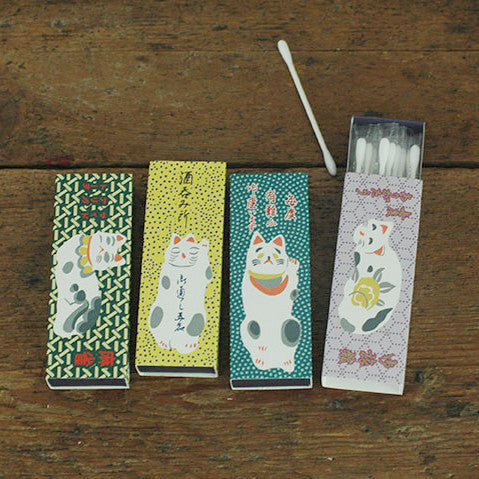 Classiky Cat Cotton Swab Box