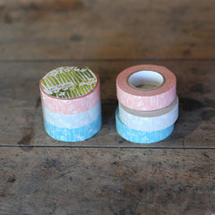 Classiky Small Flower Washi Tapes - Set of 3