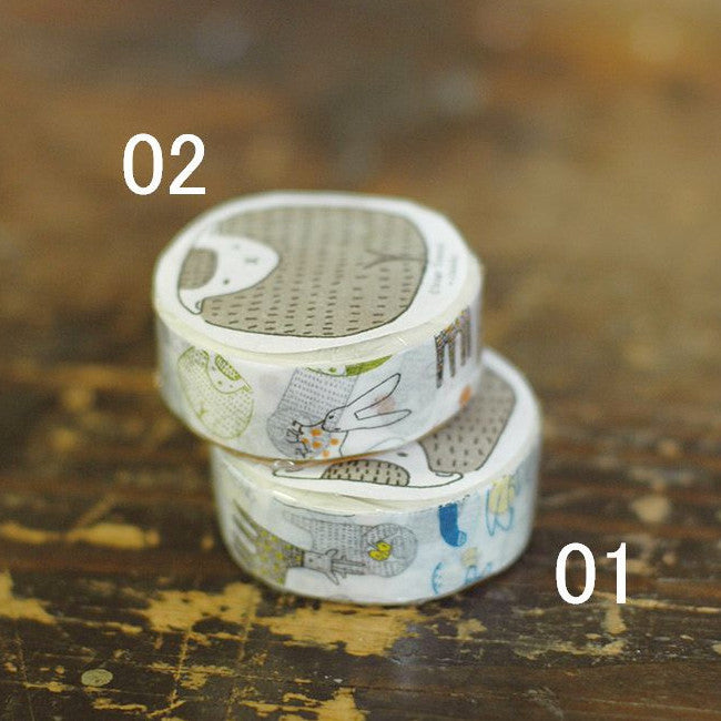 Classiky Beasts Washi Tapes