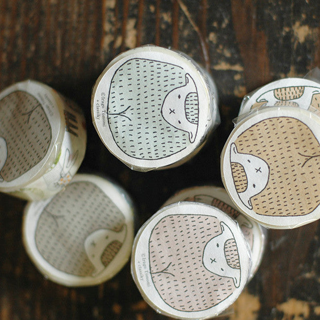 Classiky Forest Washi Tapes