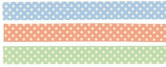 Classiky Dots/Lines Washi Tapes (Set of 3)