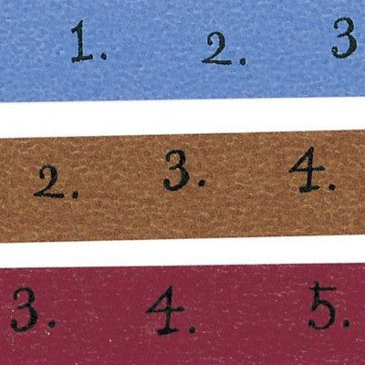 Classiky Number Washi Tapes - Set of 3