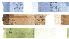 Classiky Collage Washi Tapes - Set of 3