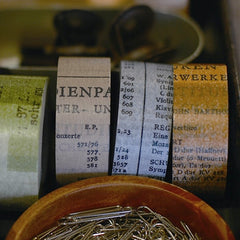 Classiky Old Book Washi Tape (10mm)