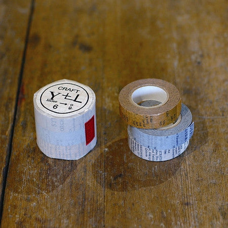 Classiky Old Book Washi Tapes (15mm) - Set of 3