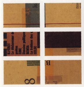 Classiky Collage Stamp Sheet