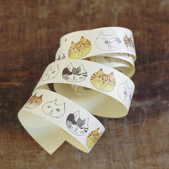 Classiky x Toranekobonbon Sticker Roll - Cat