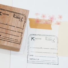 Black Milk Project Rubber Stamp - Postal Note