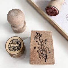 Black Milk Project Rubber Stamp - Sakura Trio Set