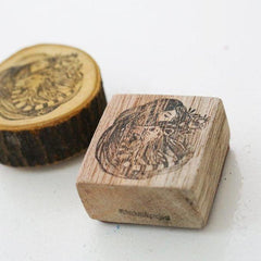 Black Milk Project Rubber Stamp - Savannah